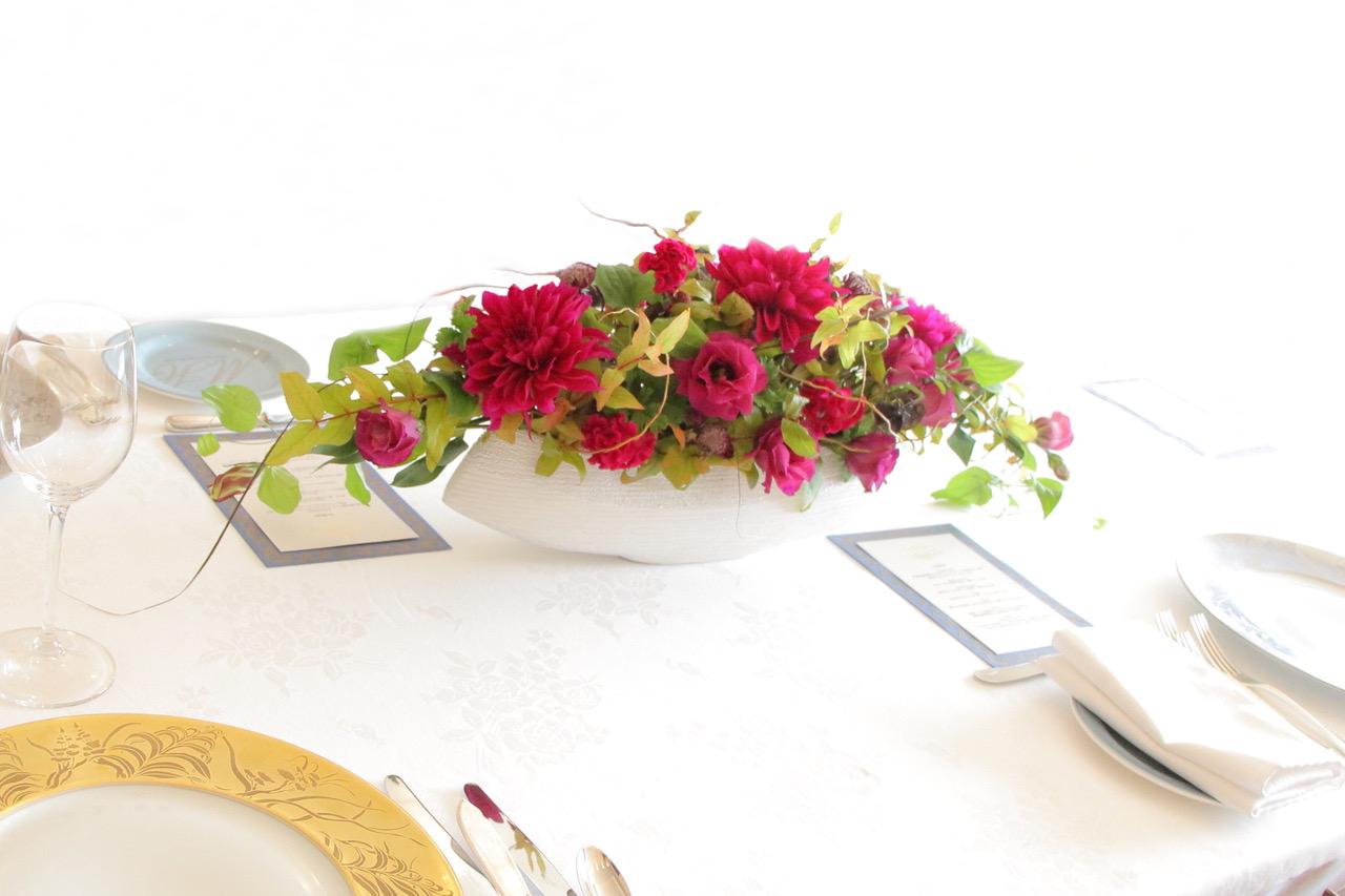 レストラン装花